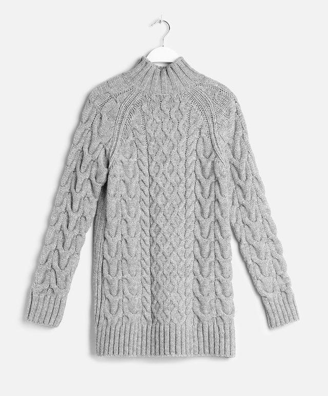 Jersey cuello alto aranes - OYSHO
