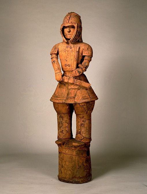 東京国立博物館 - コレクション 名品ギャラリー 考古 埴輪 挂甲武人(はにわ けいこうぶじん) 画像一覧 拡大して表示