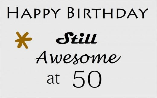 Happy 50 #birthday