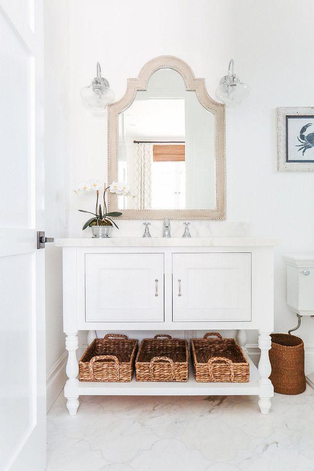 "California Beach House with Coastal Interiors - ""Guest Bathroom"""