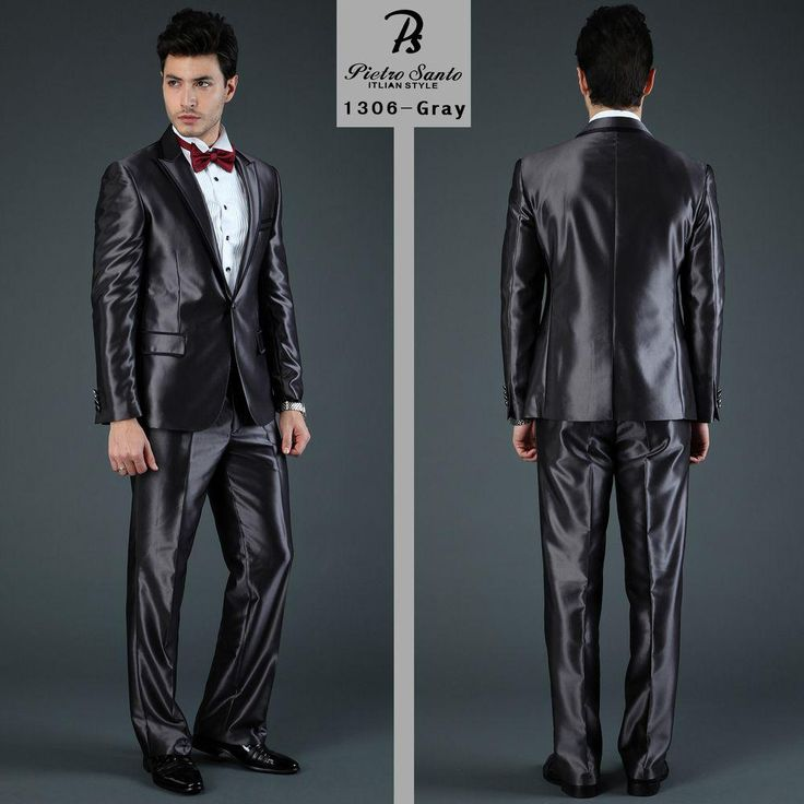 A Korean design business suit. It gives a man a respectable image because of its color. It looks like a water repealant though it's not really like that, just the way it looks like.  Navy Blue /Grey Fashion Business Suits Men's Formal Dress Suits Slim Fit Korean Style Tuxedo Suits S http://www.dhgate.com/product/navy-blue-grey-fashion-business-suits-men/162058042.html