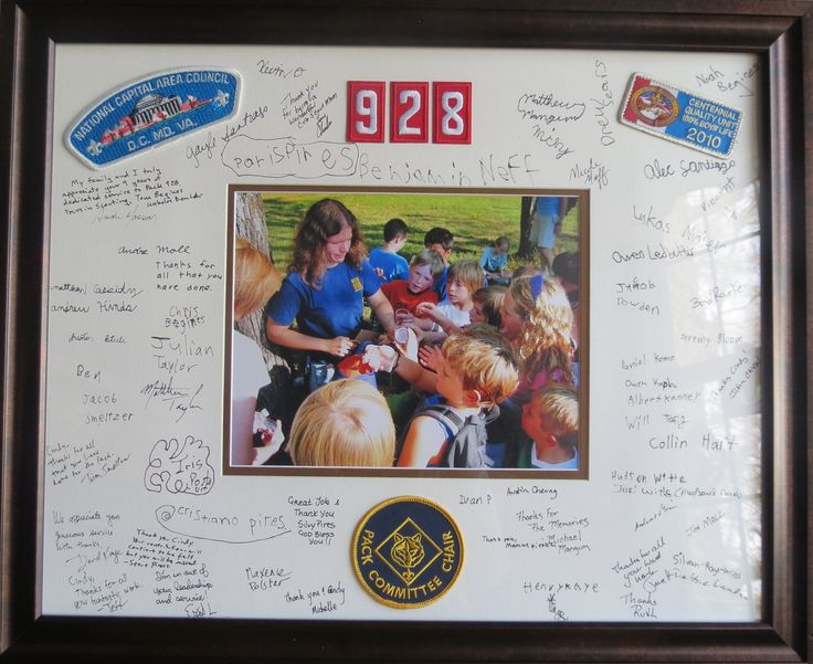 Great gift  idea when a cubmaster or another leader position leaves    IMG_0616.jpg (2640×2156)