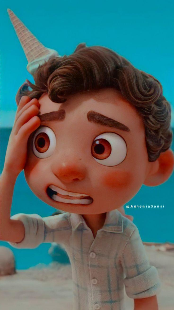 Simples Wallpaper Luca In 2021 Disney Wallpaper Disney Pixar Movies Your Name Anime
