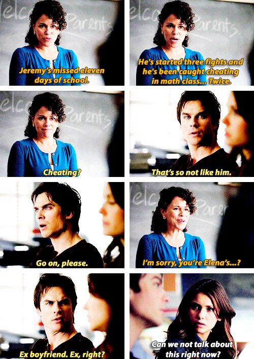"Katherine inside of elena. Traveler . Damon and ""elena""