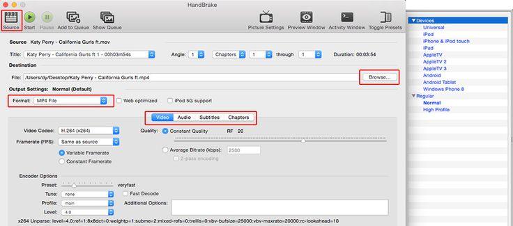 Handbrake für Mac Download | DVD Videos konvertieren mit Handbrake unter Mac