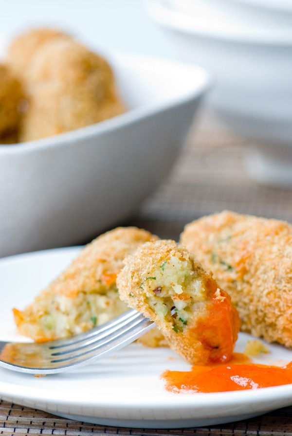 Indochine Kitchen » Potato Croquettes #Indonesian recipes #Indonesian cuisine #Asian recipes #Asian cuisine http://indostyles.com/