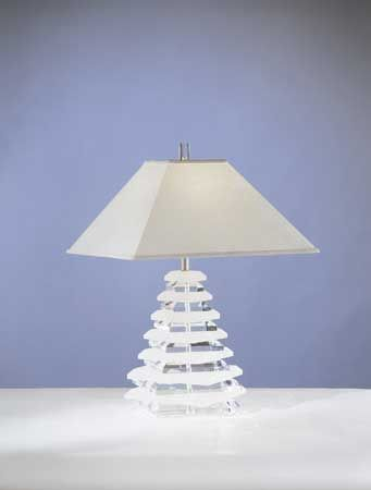PYRAMID LAMP By Shahrooz Shahrooz Art.com   #AcrylicFurniture,  #LuciteFurniture ACRYLICORE