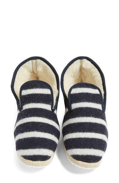 Free shipping and returns on Armor Lux Stripe Slipper (Women) at Nordstrom.com. Plush wool lining makes these striped slippers an ultra-comfy favorite.