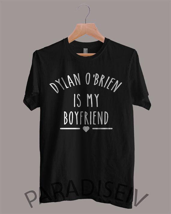 Dylan O'Brien es Teen Wolf camisa mi novio