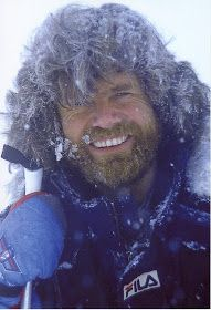 "Reinhold Messner (born 17 September 1944) is a mountaineer, adventurer and explorer from the Italian autonomous province of South Tyrol, ""whose astonishing feats on Everest and on peaks throughout the world have earned him the status of the greatest climber in history.""[1]"