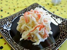 Great recipe for Simple Daikon Radish & Crab Stick Salad. This is a recipe that I've been making since I got married. When I was still single, a co-worker made me a simmered scallop dish that tasted delicious, so I tried remaking it in my own home with crab sticks. Please thoroughly squeeze out any excess moisture from the daikon radish during Step 3. Recipe by Donpintan