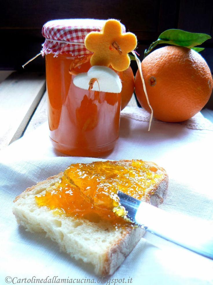 Cartoline dalla mia Cucina: Marmellata di Arance