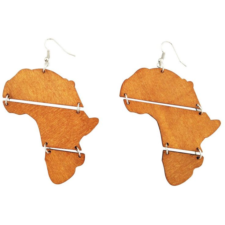 40 best Africa Shaped Earrings images on Pinterest ...