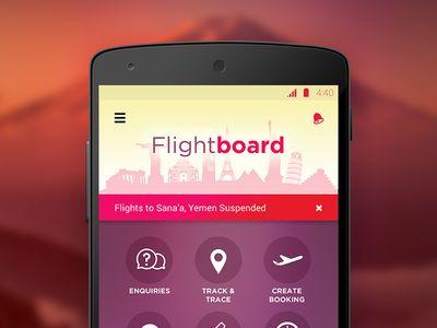 Travel App Dashboard
