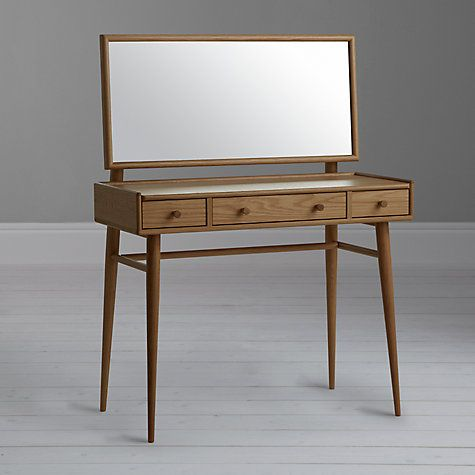 Buy Ercol Shalstone Dressing Table Online at johnlewis.com                                                                                                                                                                                 More