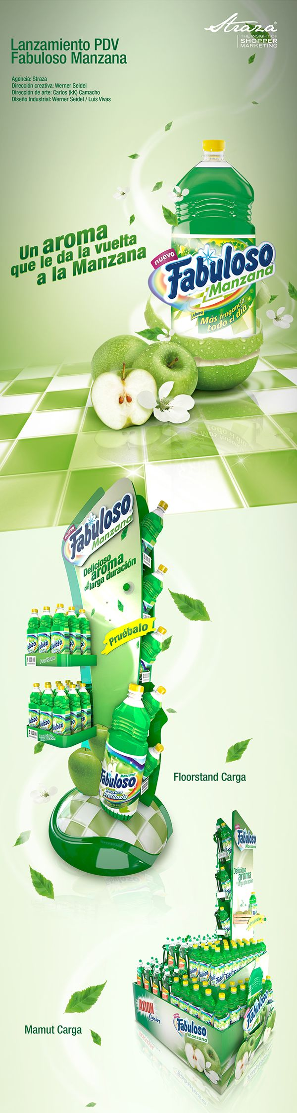 Fabuloso Manzana on Behance