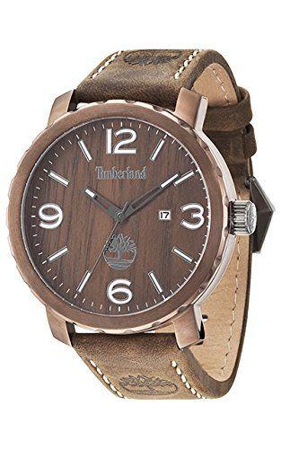 Timberland TBL.14399XSBN/12 Reloj de Pulso, Análogo, para Hombre, Marrón