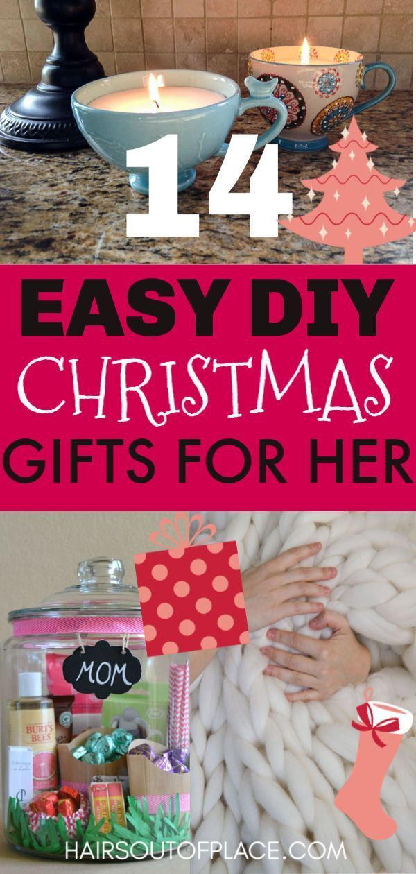 14 Diy Christmas Gift Ideas For Friends Or Mom Giving Creative