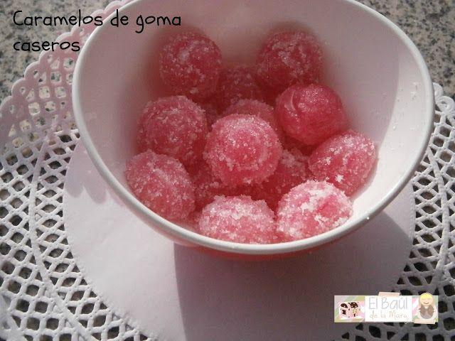 El Baúl de la Mary ♥: DIY: Caramelos de goma caseros