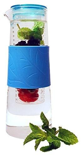 32 Ounce - Brosilicate Glass - Fruit and Tea Infuser Water Pitcher – Drink the Best Flavor Infused Healthy Beverages