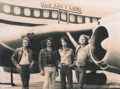 Led Zeppelin Póster en tela