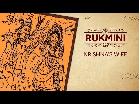 Rukmini - Krishna's Wife - YouTube