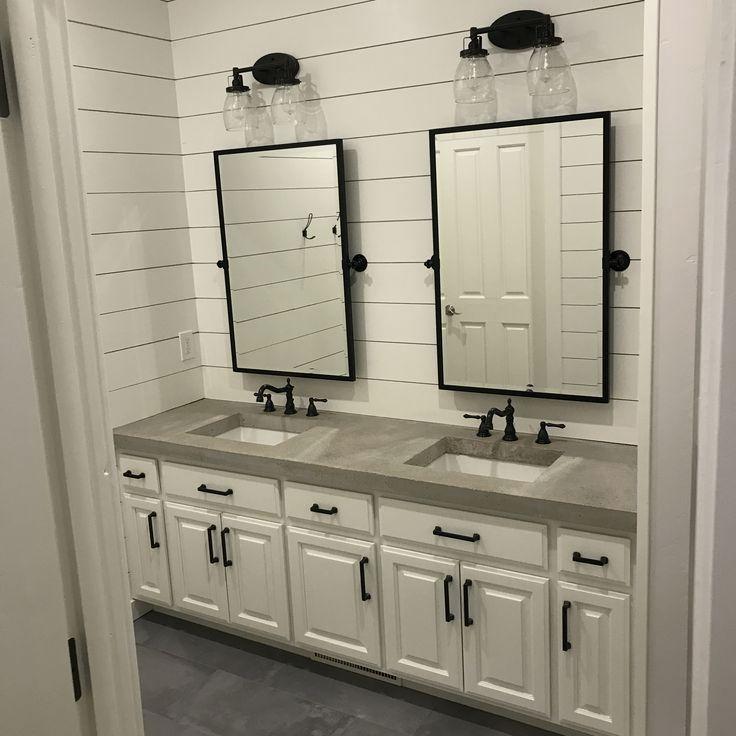21++ Concrete bathroom vanity top diy