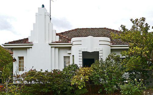 Deco home in Melbourne, Australia