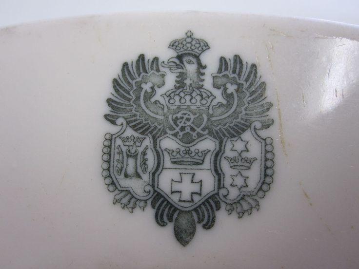 Antik Königsberg Wappen Rosenthal Teller