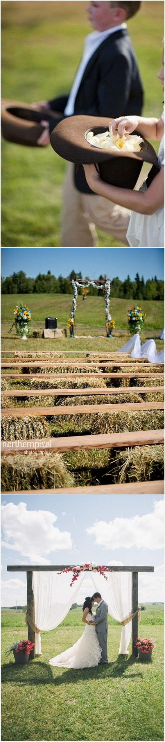 Rustic country farm wedding ideas / http://www.deerpearlflowers.com/gorgeous-ideas-for-country-farm-wedding/2/
