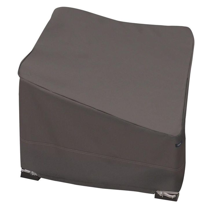 Classic Accessories Ravenna Deep Corner Sectional Cover, Dark Taupe/Brown/Brown