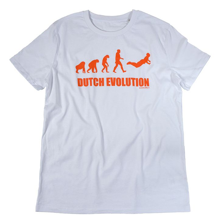 Collectors item: T-shirt 'Dutch Evolution' design by It Fits.