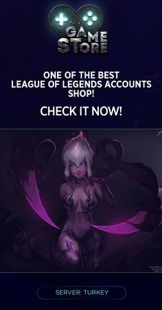 ✨ League of Legends Accounts for sale! ✨ Server: Turkey #gamestorelive #League_of_Legends #LoL #League_of_Legends_accounts #Warriors_LoL #League #MMO #Online #Community #Summoner #Champion #MMORPG #Games