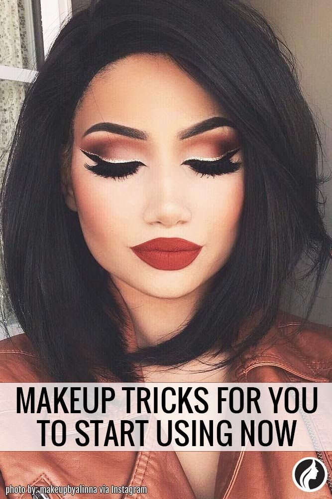 Makeup Tricks for You to Start Using Now ★ See more: http://glaminati.com/makeup-tricks-for-you/