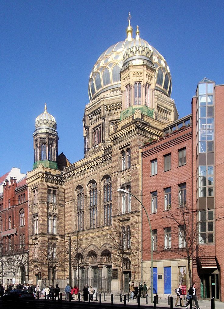 Berlin Neue Synagoge 2005 - Moorish Revival architecture - Wikipedia