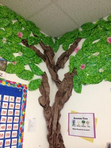 Spring Classroom Tree: Mrs. Cardenas' Bilingual Prek Classroom