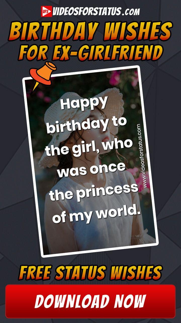 Happy Birthday wishes for Ex Girlfriend emotional heart ...