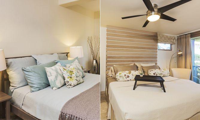 Dormitorios luminosos en colores tierra - Hogarutil
