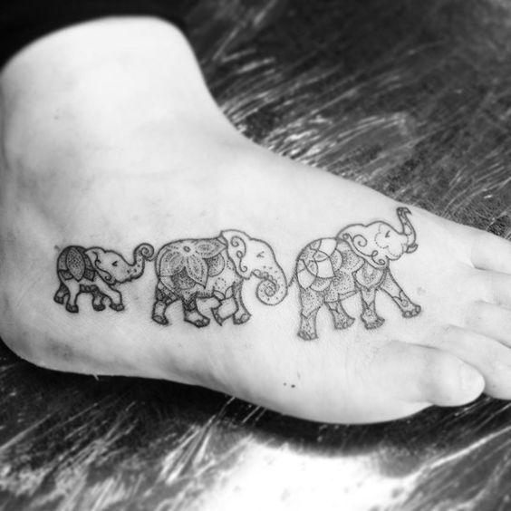 Elephant Mandala Tattoo Tattoos T Tatuajes Elefantes Y: 21 Beautiful Elephant Tattoos That Will Inspire You