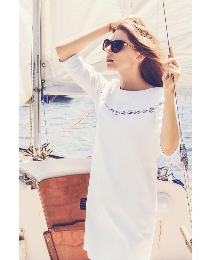 Raquette Resort Capsule 2016 #white #dress #new #collection #resort #2016 #spring #summer #voyage #travel #maisonraquette