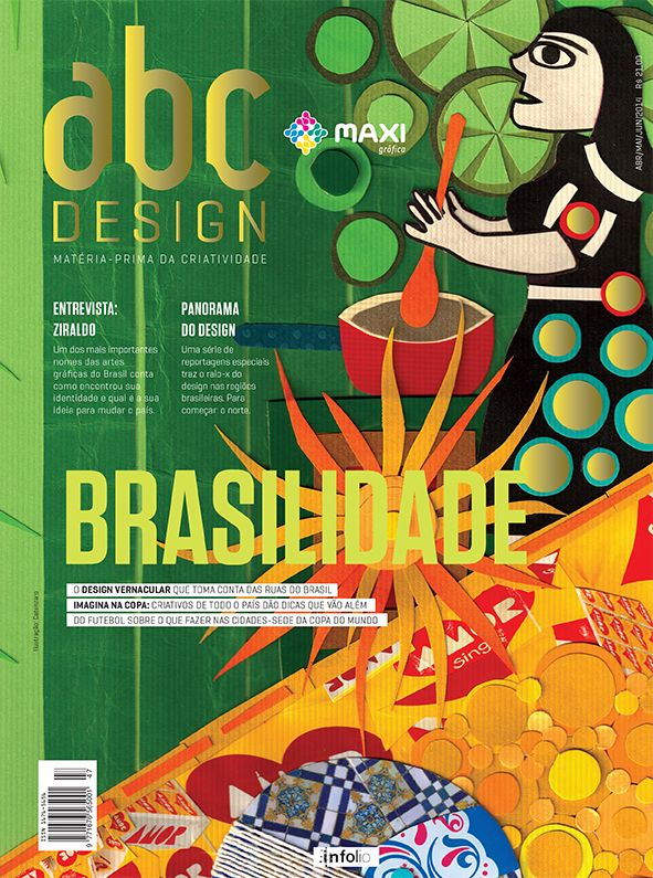 Capa da edição 47 da Revista abcDesign