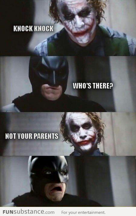 Funny Batman, joker