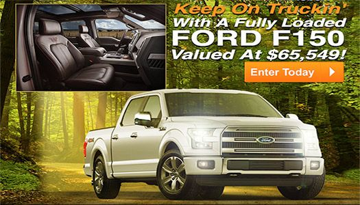 PCH Car Sweepstakes - Win a Ford F-150 Truck | Michalina