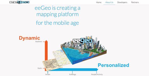 С помощью платформы «eeGeo» можно создавать персонализированные 3D-карты и использовать их в своих приложениях для мобильных устройств через API.