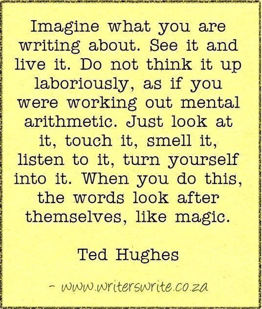 I've always done this. To me, writing is like reading. It's not really pleasant if you can't see it in your head.