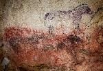 Detalle del interior de la Cueva de Tito Bustillo