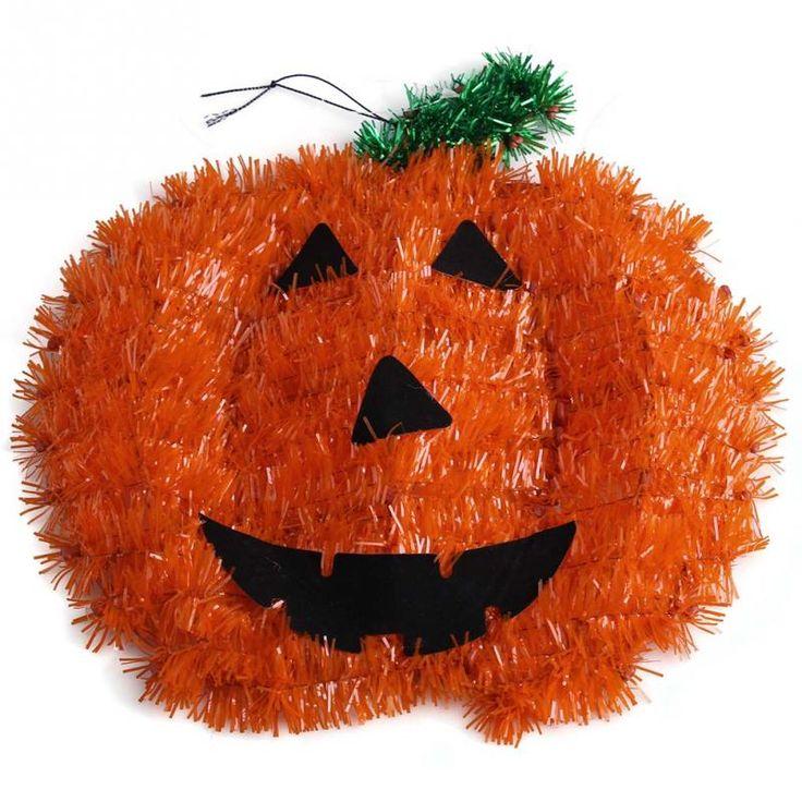 Новый творческий хэллоуин висит доска стены украшение мишура бу тыквы жуткий дети ну вечеринку оранжевый