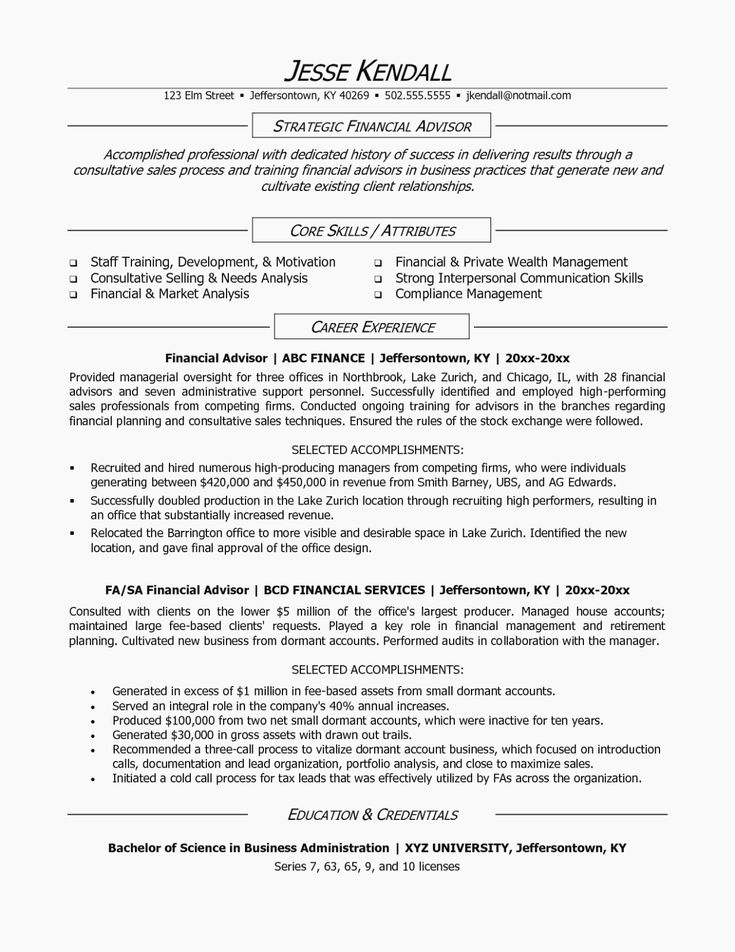 Academic advisor resume examples best of 15 taboos about