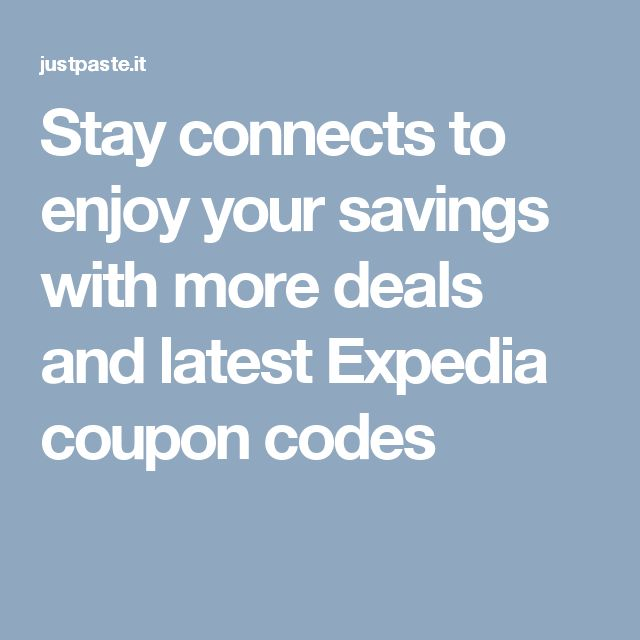 Expedia car rental coupons 2019