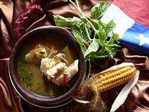 Caldillo de Congrio (conger eel soup)